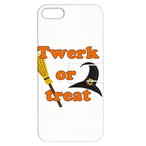 Twerk or treat - Funny Halloween design Apple iPhone 5 Hardshell Case with Stand