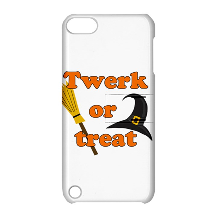 Twerk or treat - Funny Halloween design Apple iPod Touch 5 Hardshell Case with Stand