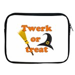 Twerk or treat - Funny Halloween design Apple iPad 2/3/4 Zipper Cases Front