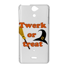 Twerk or treat - Funny Halloween design Sony Xperia V