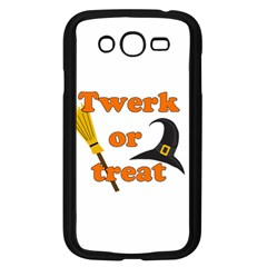 Twerk Or Treat   Funny Halloween Design Samsung Galaxy Grand Duos I9082 Case (black)