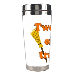 Twerk Or Treat   Funny Halloween Design Stainless Steel Travel Tumblers