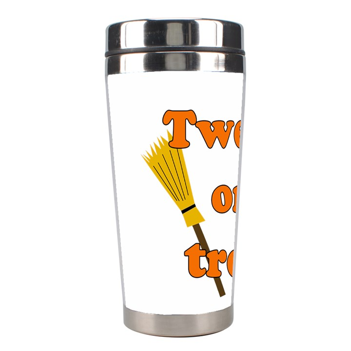 Twerk or treat - Funny Halloween design Stainless Steel Travel Tumblers