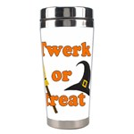 Twerk or treat - Funny Halloween design Stainless Steel Travel Tumblers Center