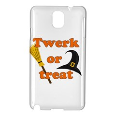 Twerk or treat - Funny Halloween design Samsung Galaxy Note 3 N9005 Hardshell Case