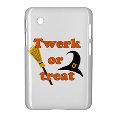 Twerk or treat - Funny Halloween design Samsung Galaxy Tab 2 (7 ) P3100 Hardshell Case
