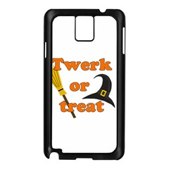 Twerk or treat - Funny Halloween design Samsung Galaxy Note 3 N9005 Case (Black)