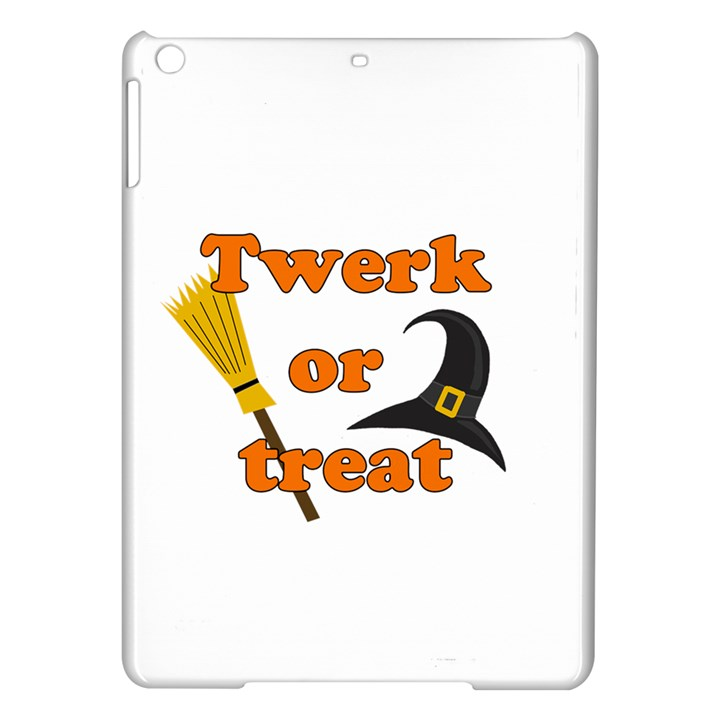 Twerk or treat - Funny Halloween design iPad Air Hardshell Cases