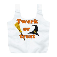 Twerk or treat - Funny Halloween design Full Print Recycle Bags (L)