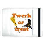 Twerk or treat - Funny Halloween design Samsung Galaxy Tab Pro 10.1  Flip Case Front