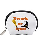 Twerk or treat - Funny Halloween design Accessory Pouches (Small)  Front