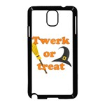 Twerk or treat - Funny Halloween design Samsung Galaxy Note 3 Neo Hardshell Case (Black) Front