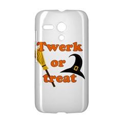 Twerk or treat - Funny Halloween design Motorola Moto G