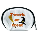 Twerk or treat - Funny Halloween design Accessory Pouches (Medium)  Back