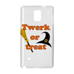 Twerk Or Treat   Funny Halloween Design Samsung Galaxy Note 4 Hardshell Case