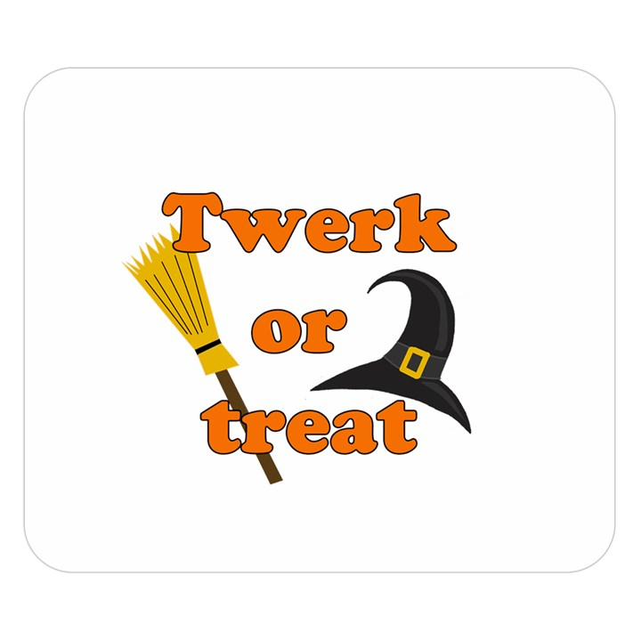 Twerk or treat - Funny Halloween design Double Sided Flano Blanket (Small)