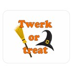 Twerk or treat - Funny Halloween design Double Sided Flano Blanket (Large)  80 x60 Blanket Front