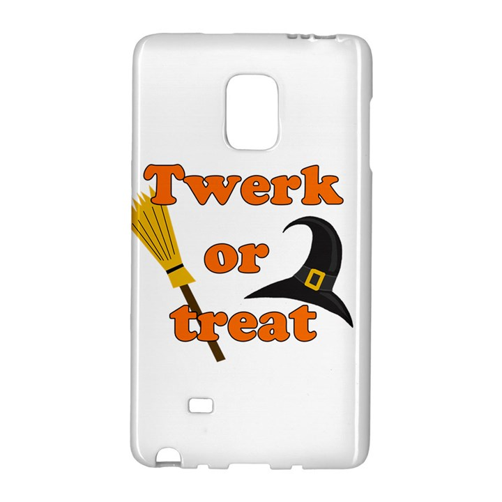 Twerk or treat - Funny Halloween design Galaxy Note Edge