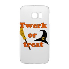 Twerk or treat - Funny Halloween design Galaxy S6 Edge