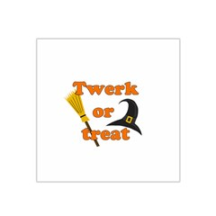 Twerk Or Treat   Funny Halloween Design Satin Bandana Scarf
