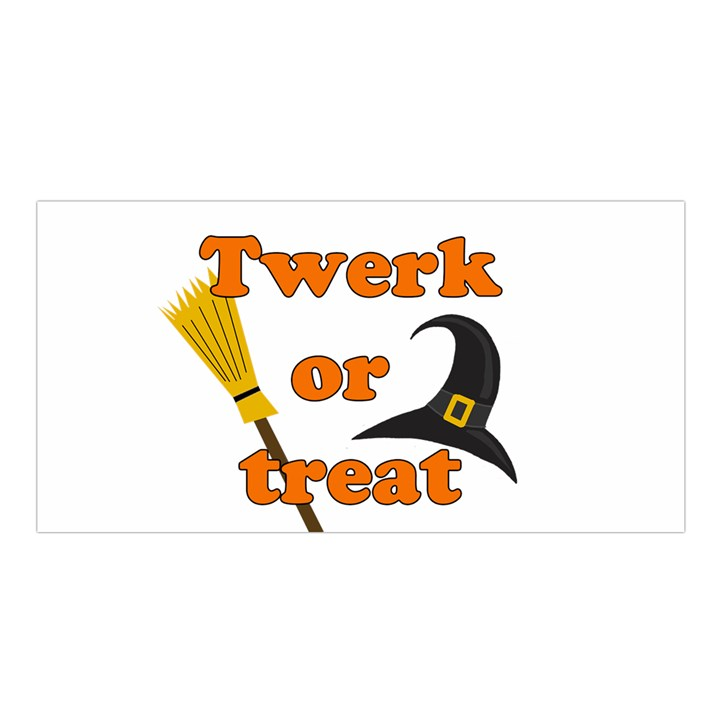 Twerk or treat - Funny Halloween design Satin Shawl