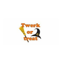Twerk Or Treat   Funny Halloween Design Satin Wrap