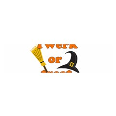 Twerk Or Treat   Funny Halloween Design Satin Scarf (oblong)