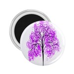 Purple Tree 2.25  Magnets Front