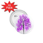 Purple Tree 1.75  Buttons (10 pack) Front