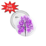 Purple Tree 1.75  Buttons (100 pack)  Front