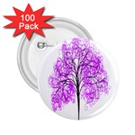 Purple Tree 2.25  Buttons (100 pack)  Front