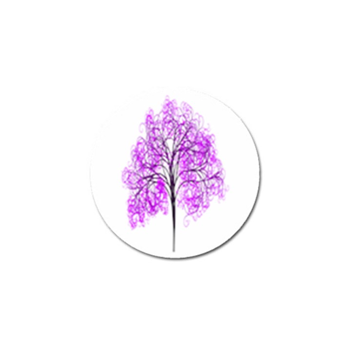 Purple Tree Golf Ball Marker