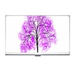 Purple Tree Business Card Holders Front