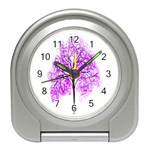 Purple Tree Travel Alarm Clocks Front