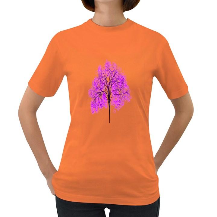 Purple Tree Women s Dark T-Shirt