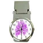 Purple Tree Money Clip Watches Front