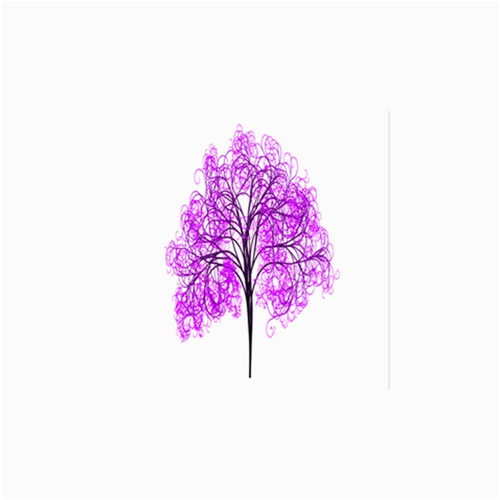 Purple Tree Collage Prints