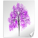 Purple Tree Canvas 8  x 10  10.02 x8 Canvas - 1