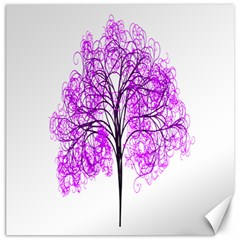 Purple Tree Canvas 20  x 20