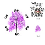 Purple Tree Playing Cards 54 (Round)  Front - Club10