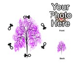 Purple Tree Playing Cards 54 (Round)  Front - ClubQ