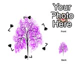 Purple Tree Playing Cards 54 (Round)  Front - Spade7