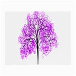 Purple Tree Small Glasses Cloth (2-Side) Back