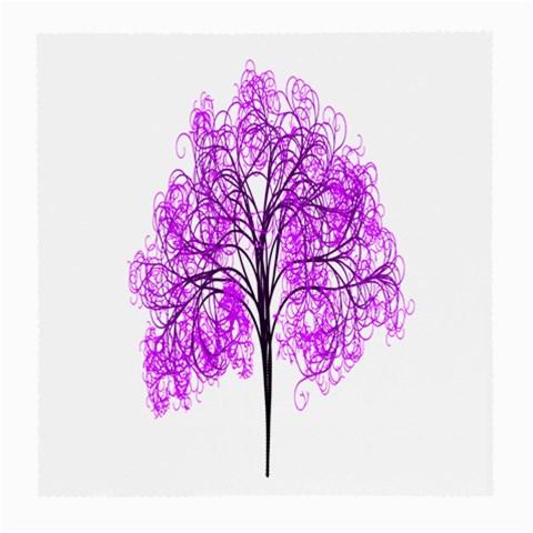Purple Tree Medium Glasses Cloth