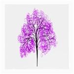 Purple Tree Medium Glasses Cloth (2-Side) Back