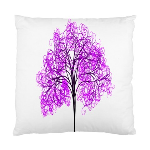 Purple Tree Standard Cushion Case (Two Sides)