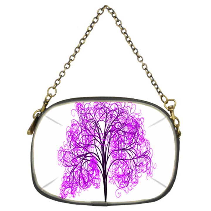 Purple Tree Chain Purses (Two Sides)
