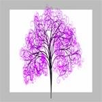 Purple Tree Mini Canvas 8  x 8  8  x 8  x 0.875  Stretched Canvas