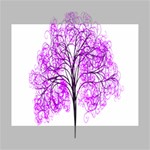 Purple Tree Canvas 10  x 8  10  x 8  x 0.875  Stretched Canvas