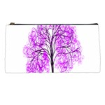 Purple Tree Pencil Cases Front